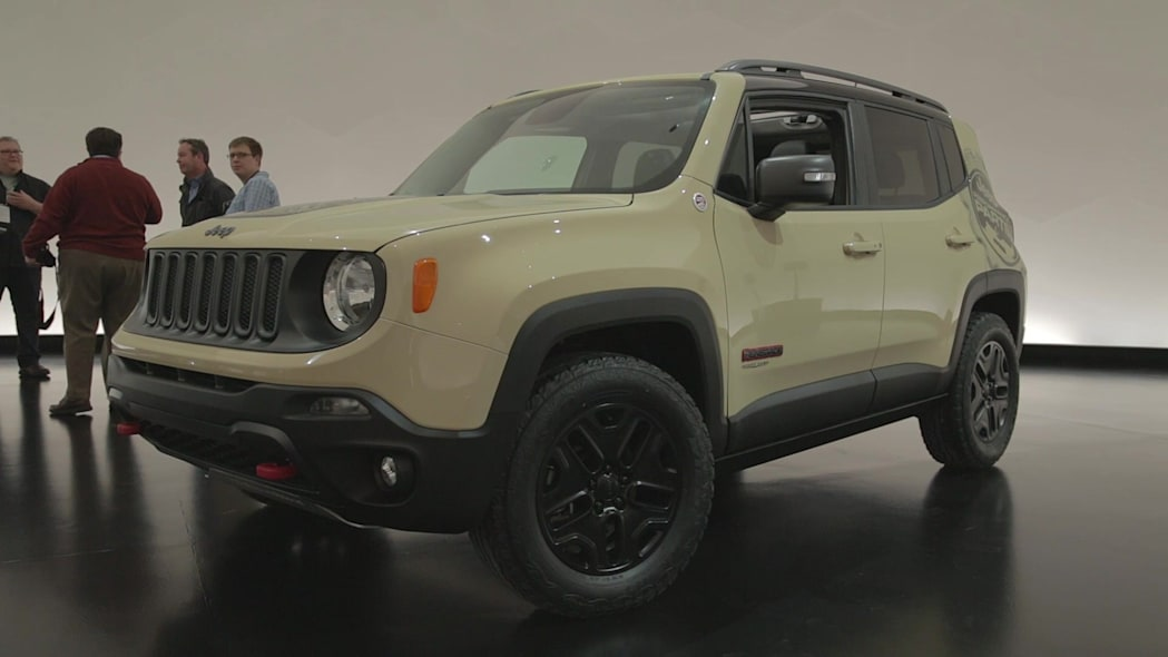 2015 Easter Jeep Safari Concepts: Jeep Renegade Desert Hawk
