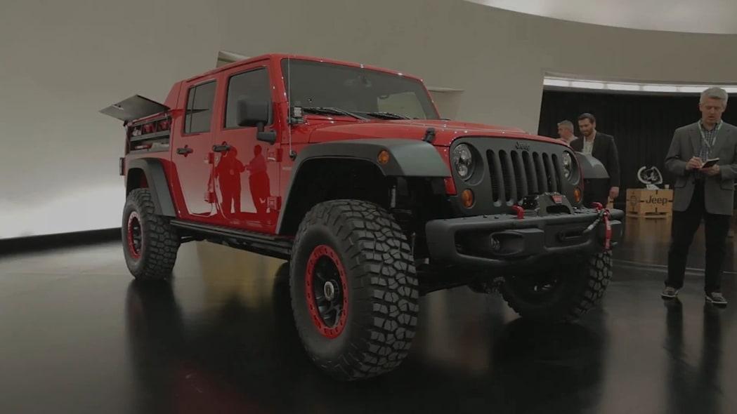 2015 Easter Jeep Safari Concepts: Jeep Wrangler Red Rock Responder