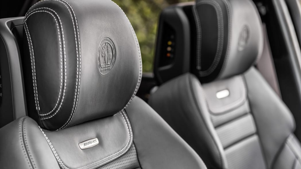 mercedes gle63 s embossed seats