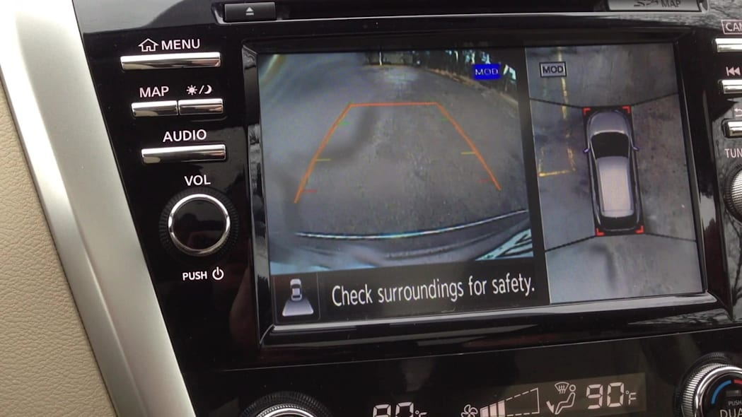 2015 Nissan Murano Backup Camera | Autoblog Short Cuts