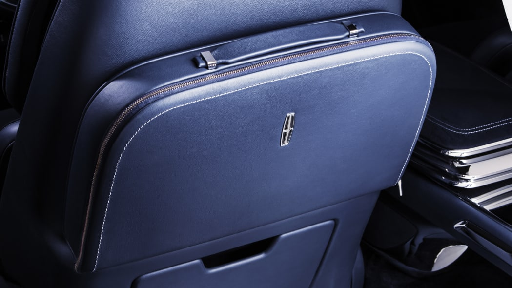 Lincoln Continental Concept promo photo luxury amenity kit