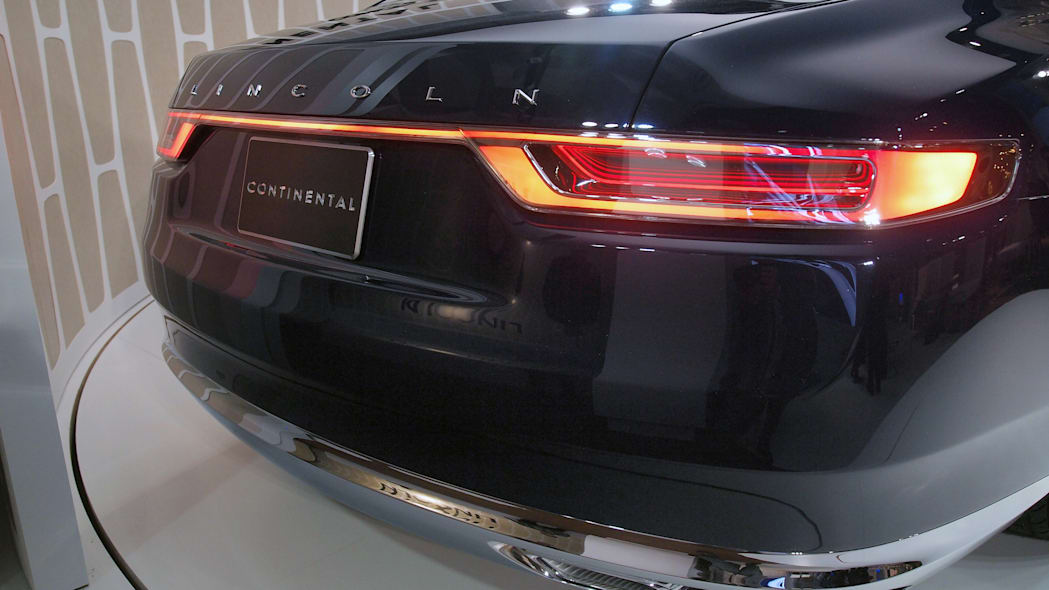 Lincoln Continental Concept tailights