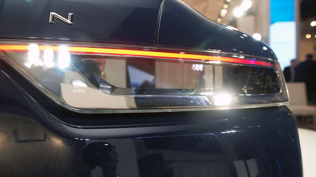 Lincoln Continental Concept taillight