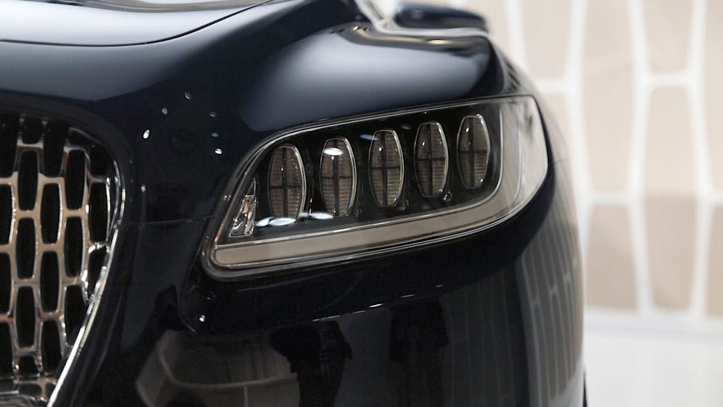 Lincoln Continental Concept front headlight