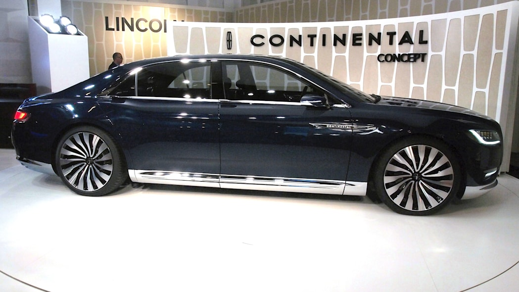 Lincoln Continental Concept side view