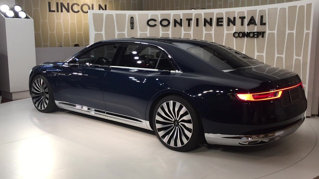 Lincoln Continental Concept In New York 2015