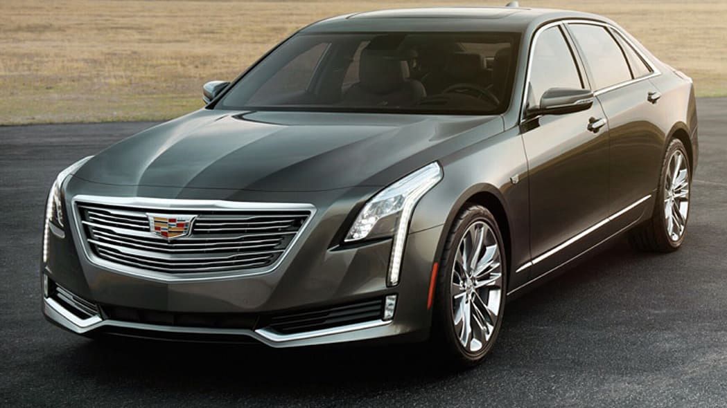 2016 Cadillac CT6 leaked image in dark grey