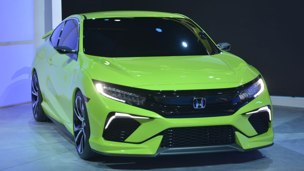 civic honda coupe concept grille lights led