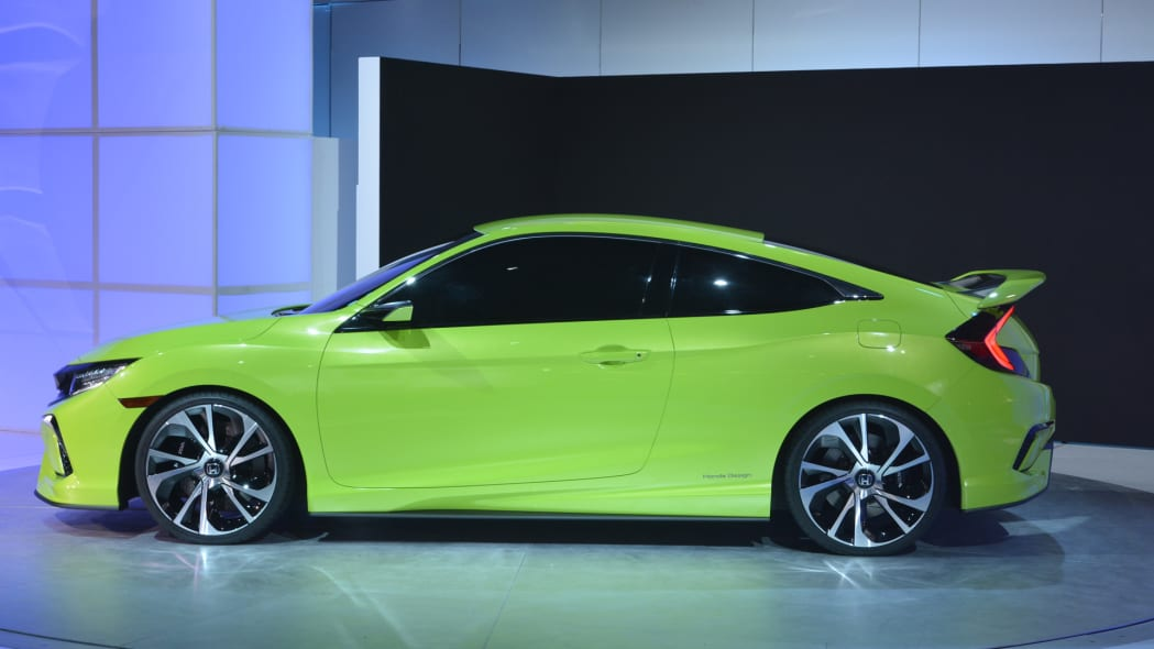 hodna civic honda coupe concept profile