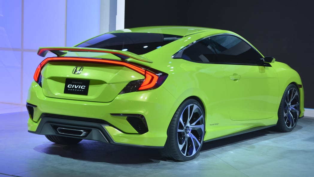 civic concept coupe honda taillights rear