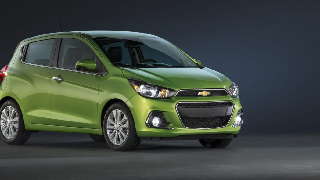 chevy spark 2016 redesign compact hatchback