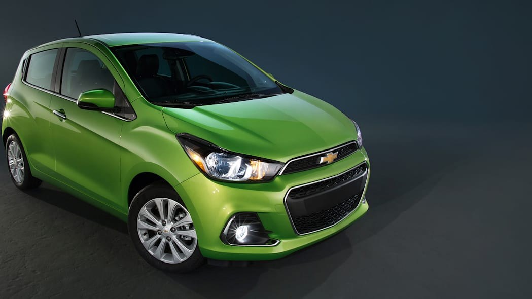 spark chevy hatchback 2016 new york green