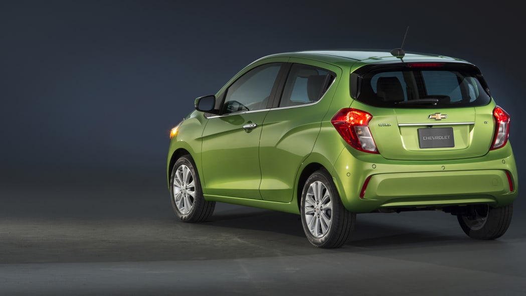 chevy spark back 2016 green new york