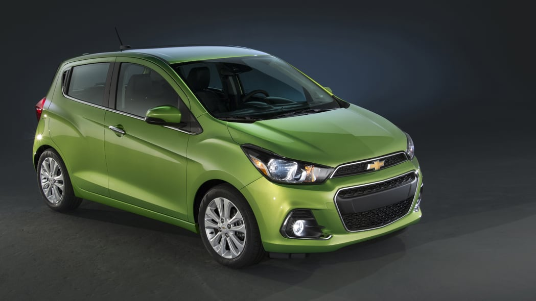 chevy spark 2016 new york auto show