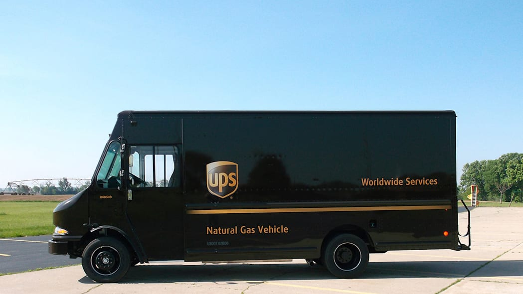 UPS CNG Vehicles Photo Gallery