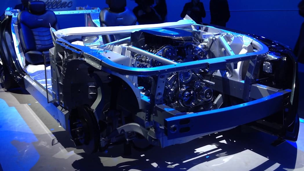 2016 Cadillac CT6 Body Structure