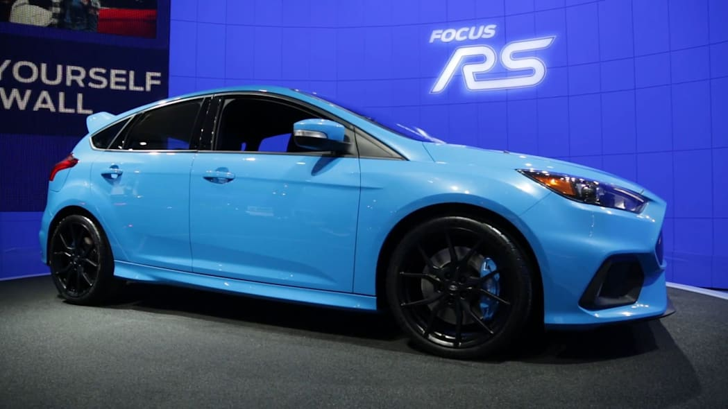 2016 Ford Focus RS | 2015 NYIAS