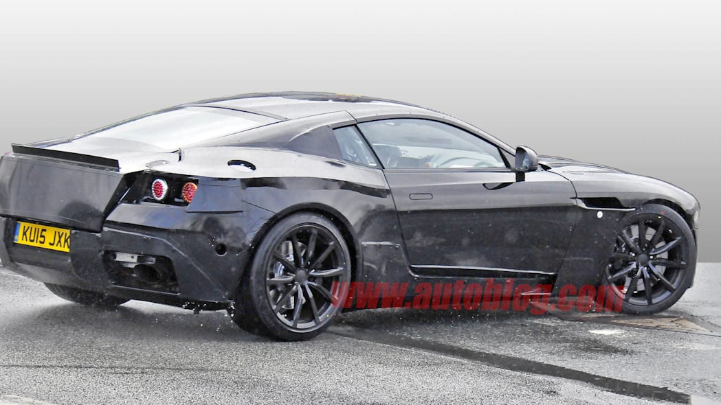 martin aston db 9 spied photo