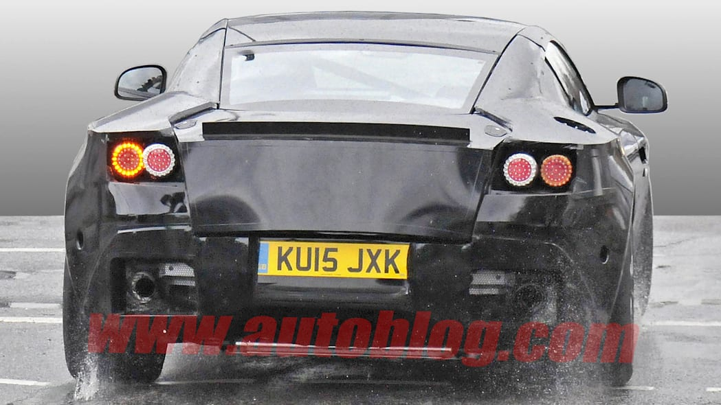 db9 spy photos aston martin camo