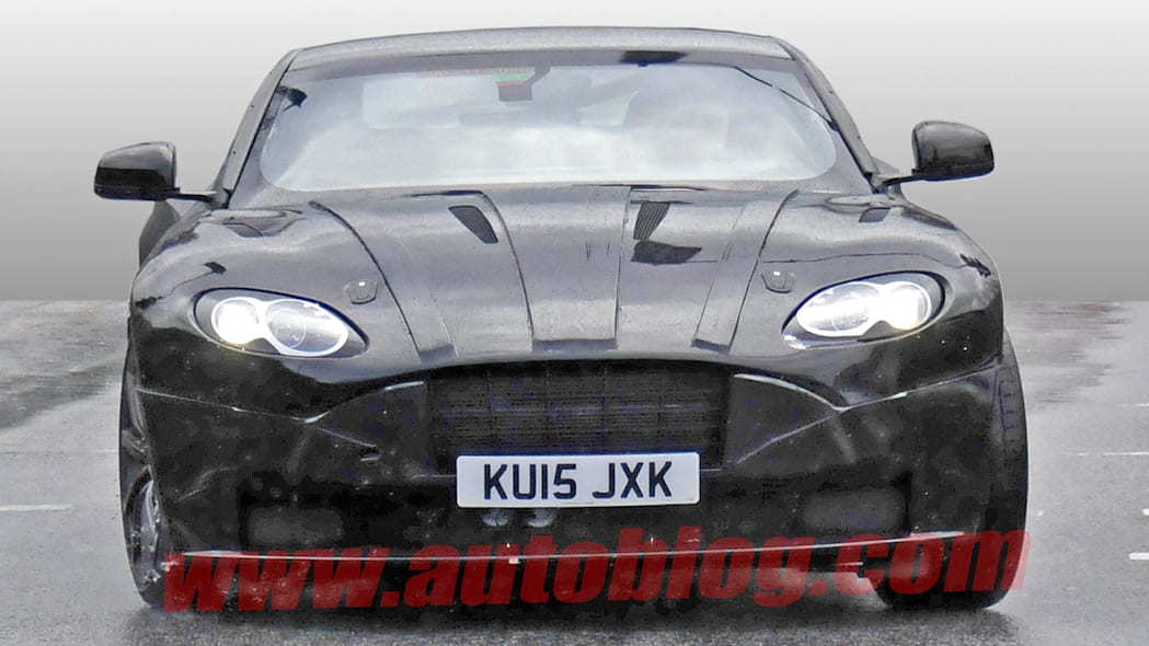 aston martin db9 successor spy photo