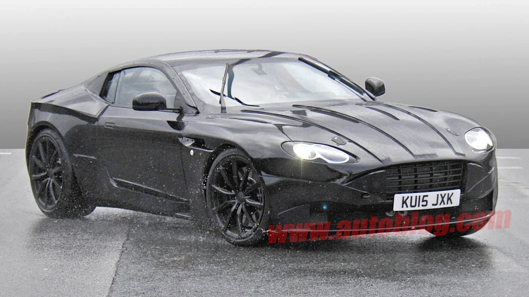 aston martin db9 action spy photo