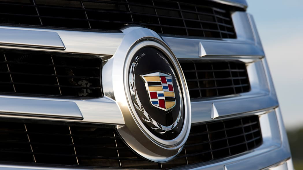 Cadillac Escalade grille and badge