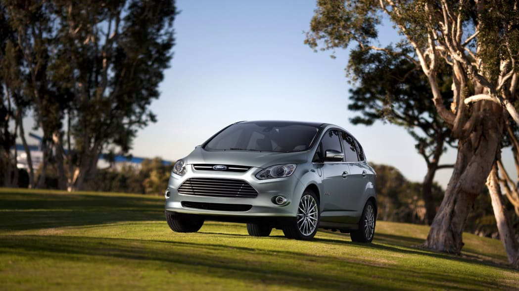 Ford C-Max Energi in light green