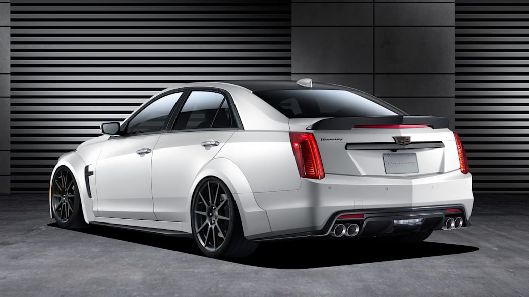 hennessey hpe1000 cadillac cts-v rear