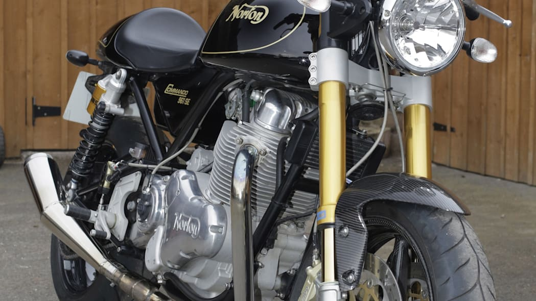 norton commando front