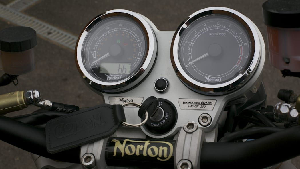 norton commando gauges