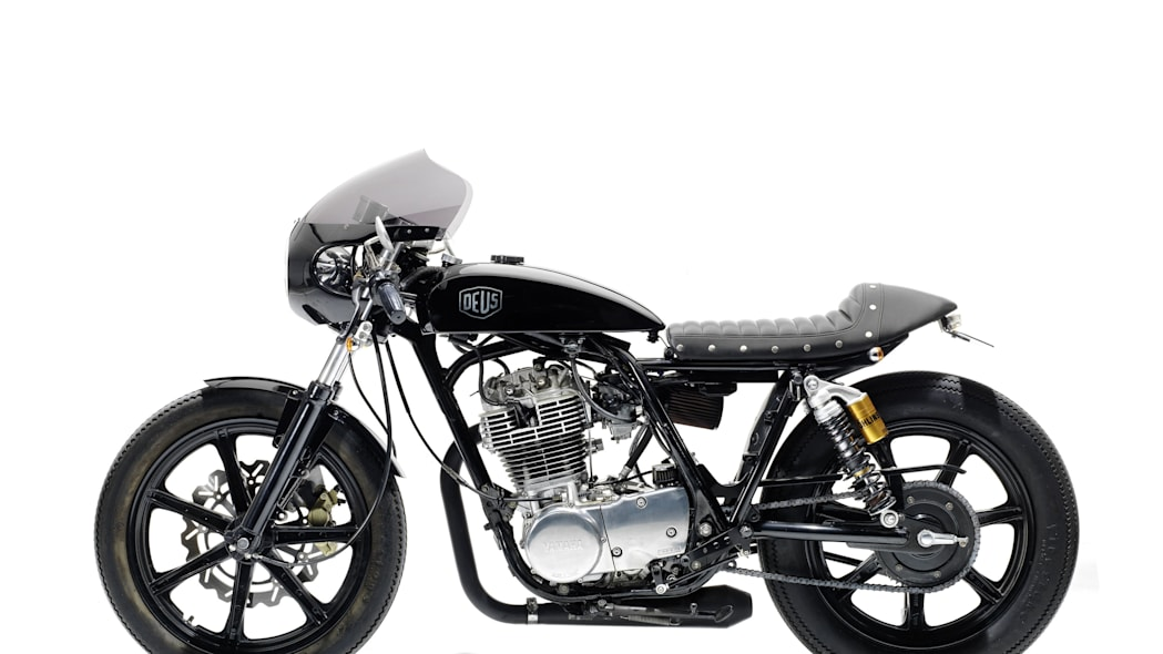 2010 yamaha sr400 grievous angel by deus ex machina