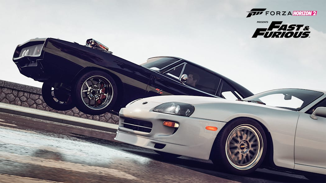 wheelie fast and furious supra dodge charger