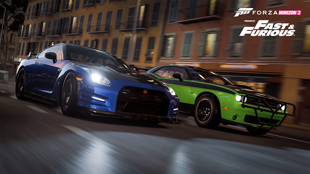 forza horizon nissan gt-r fast and furious