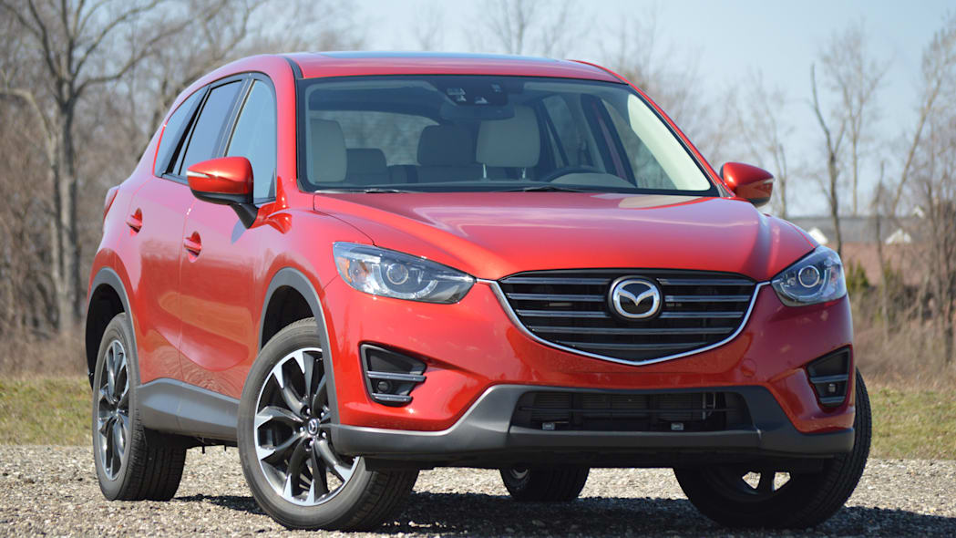 2016 Mazda CX-5 soul red front grille country