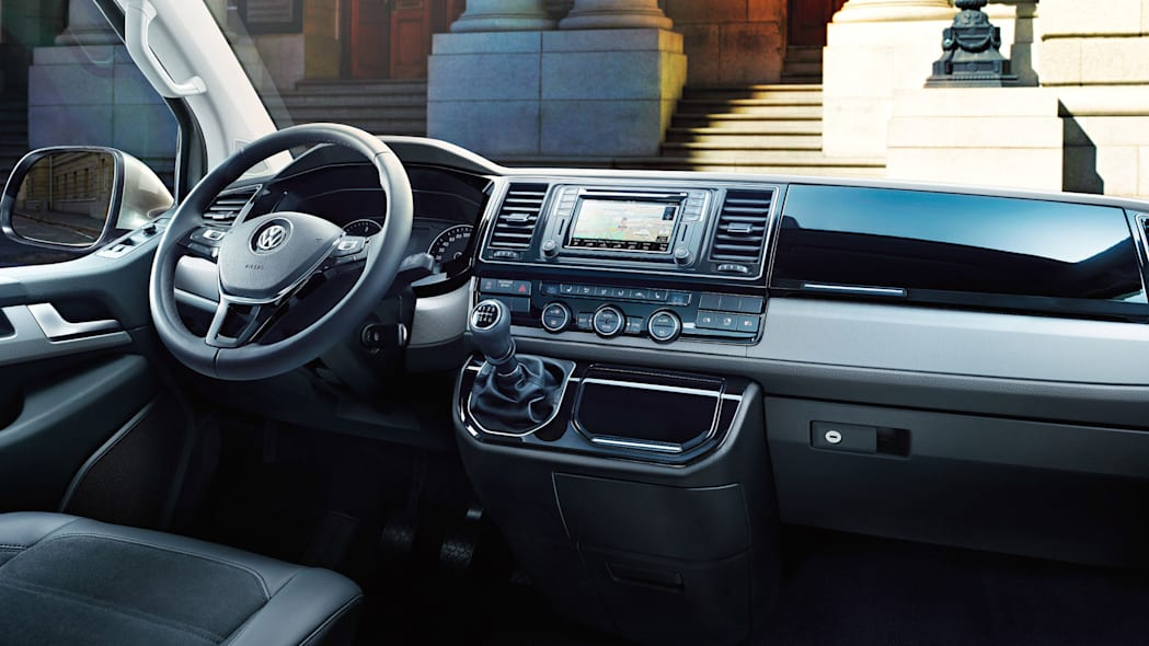 vw transporter t6 interior
