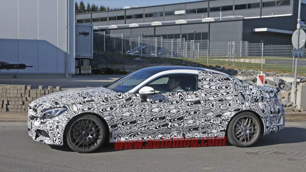 mercedes-amg c63 coupe camouflage