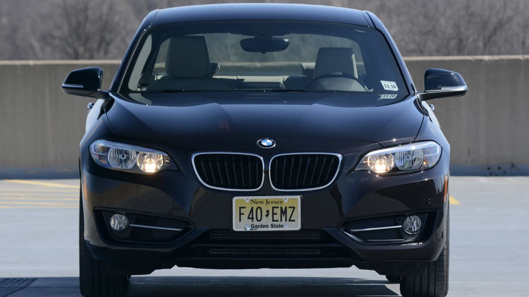 2012 BMW 228i XDrive front view