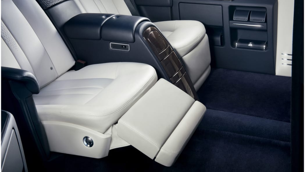rolls royce phantom limelight collection seat detail