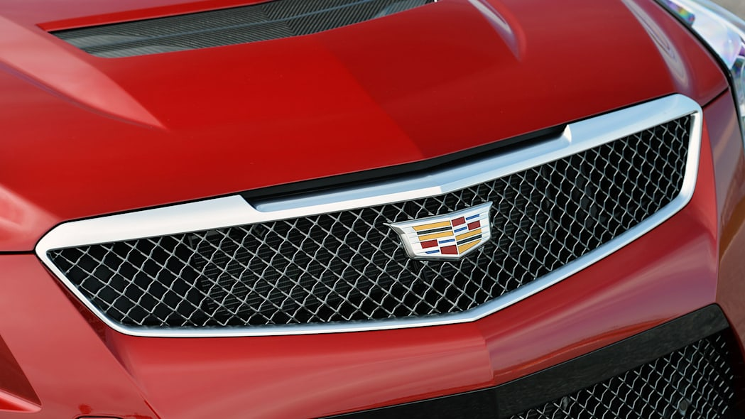 2016 Cadillac ATS-V grille