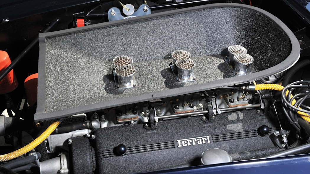 Ferrari 250 GT SWB California Spider engine