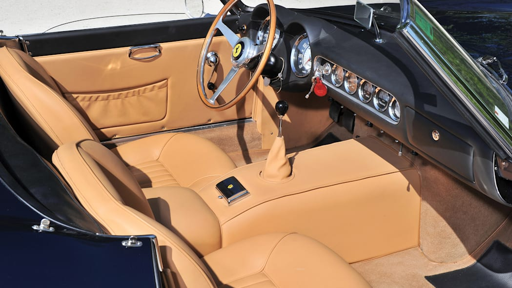 Ferrari 250 GT SWB California Spider seats