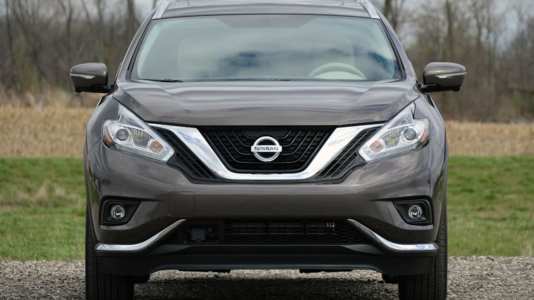 2015 Nissan Murano front view