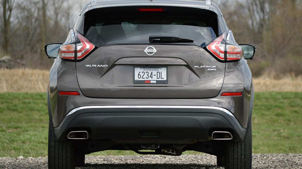 2015 Nissan Murano rear view