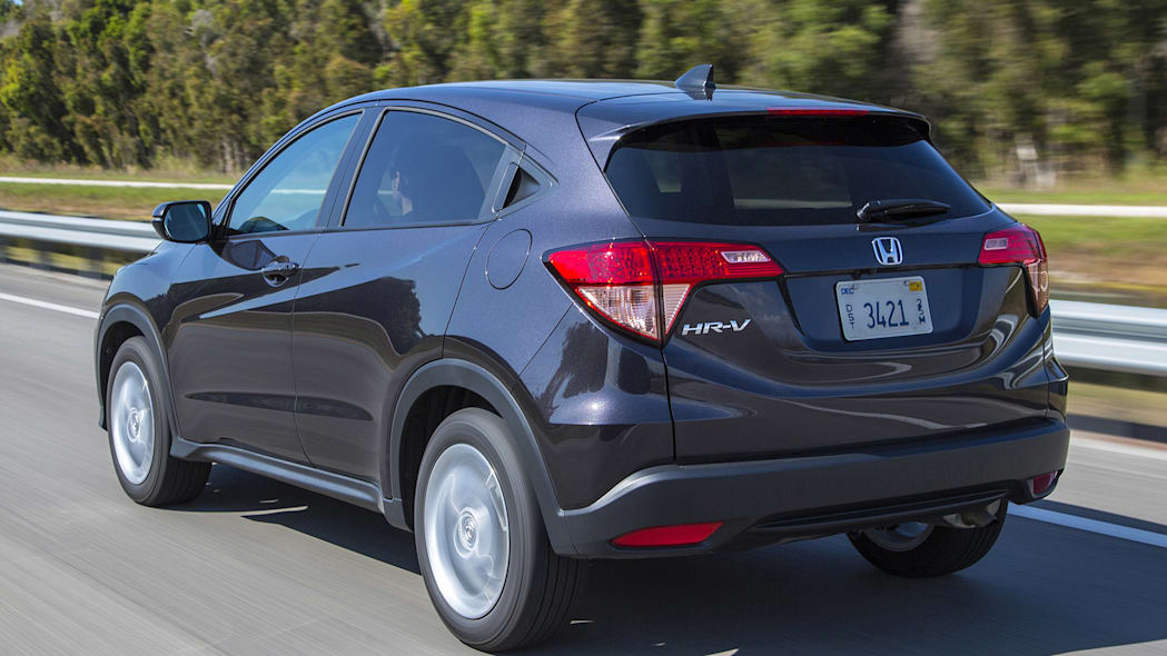 2016 Honda HR-V driving