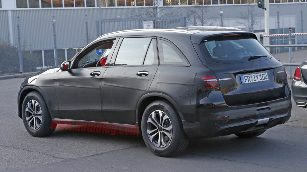 Mercedes-Benz GLC-Class rear 3/4
