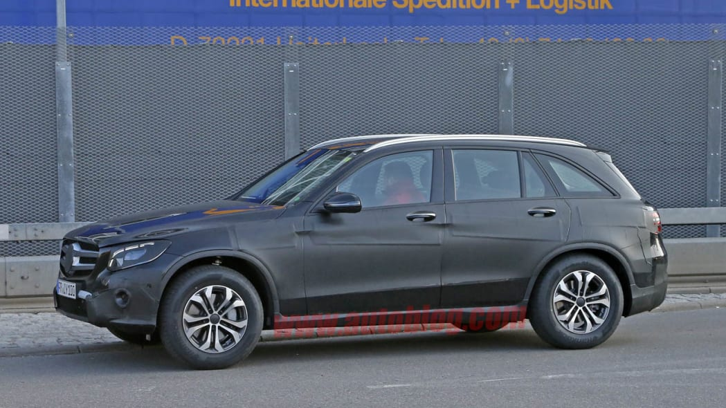 Mercedes-Benz GLC-Class prototype side