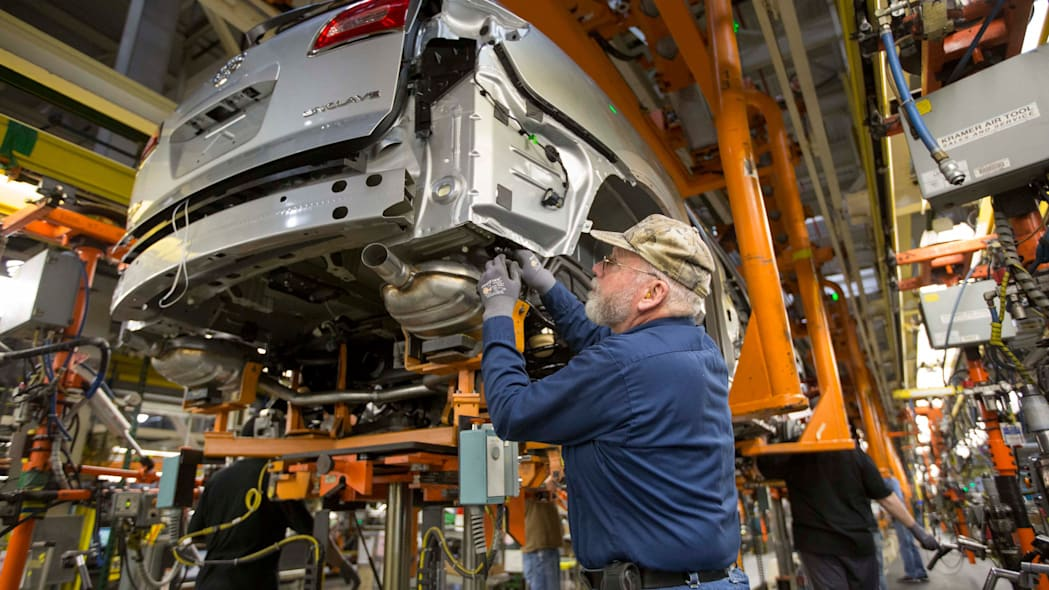 gm factory investment announcement assembly