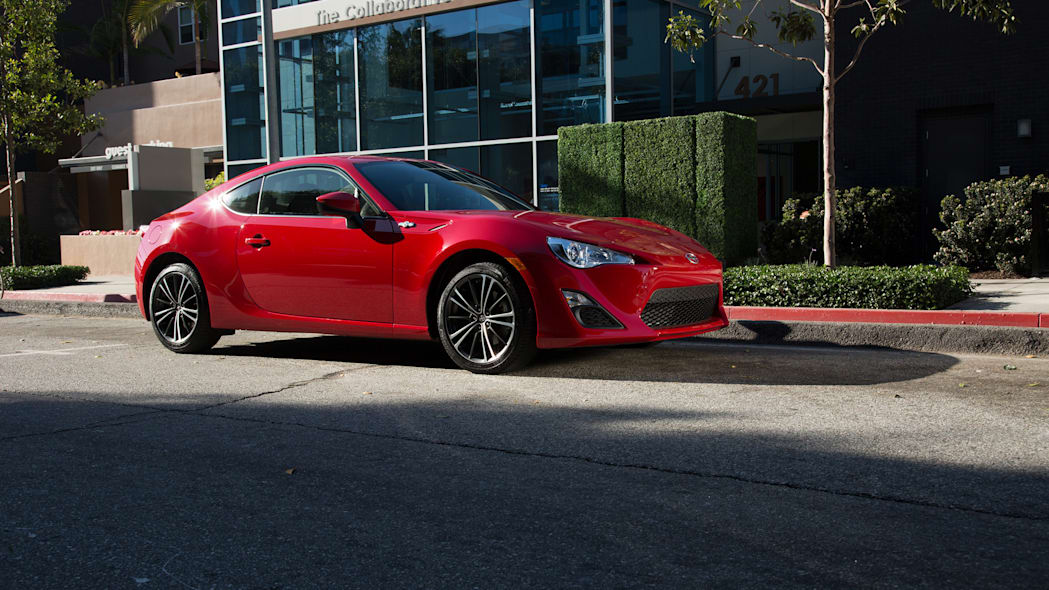 scion parked fr-s 2016 red office