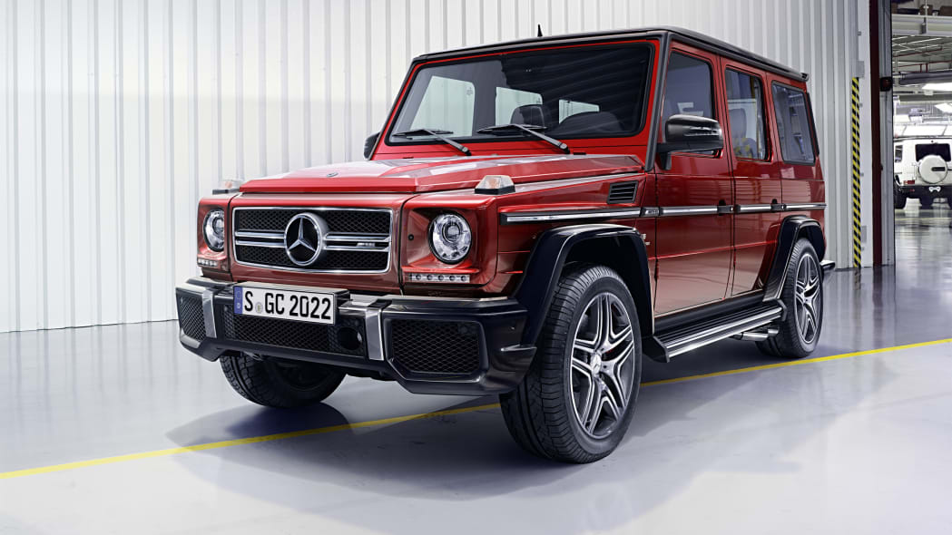 Mercedes-AMG G-Class red