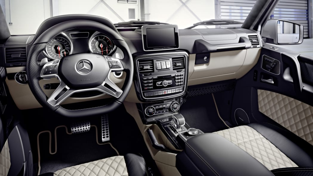 Mercedes-AMG G-Class Edition 463 interior quilted leather